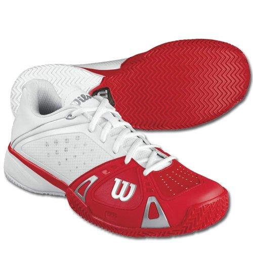 Hiekkakenttä Wilsonin Valkoinen 5 Tennis Cc Koko Kiire Pro Kengät Punainen Miesten 6 wwq51rH