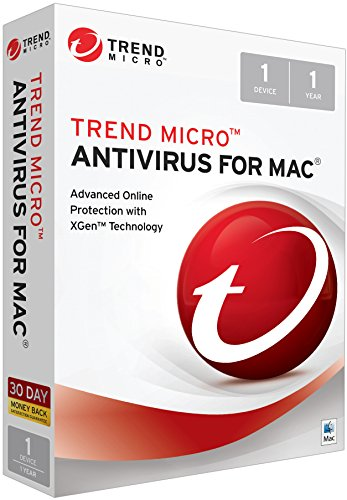 Trend Micro Security For Mac 2018 1 User [Key Card]
