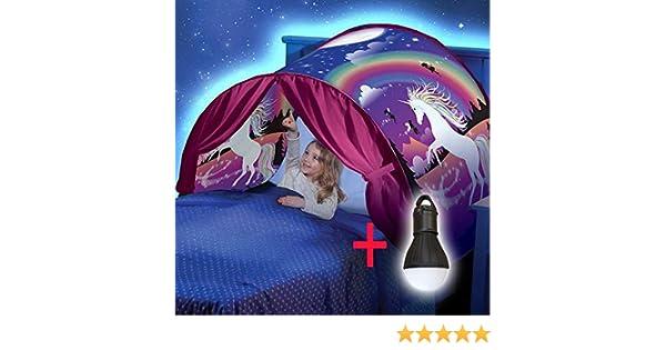 Twoteams Tienda Infantil de ensueño para niños Tienda de fantasía para niños Tienda de campaña Unicornio
