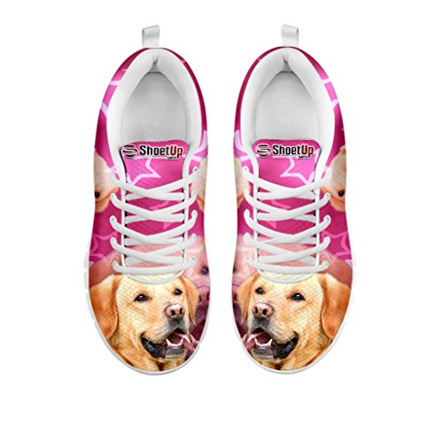 Pet Breed Retriever Sneakers Shoes Labrador Running Shoetup Choose Dog Women's Lightweight Sneakers Your Print 4W6wqR1vnf
