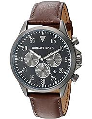Michael Kors Mens Gage Brown Watch MK8536