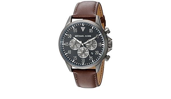 12d690c1e252 Michael Kors Men s Gage Brown Watch MK8536  Michael Kors  Amazon.ca  Watches