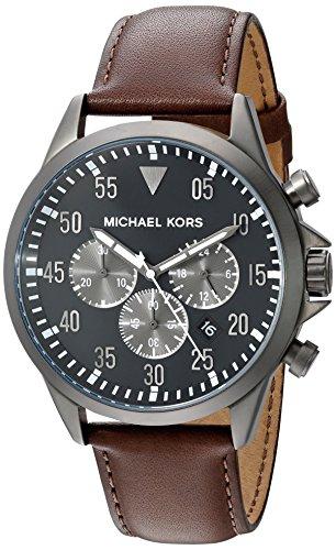 (Michael Kors Men's Gage Brown Watch MK8536)