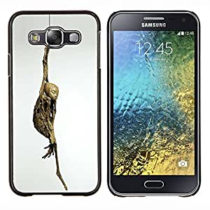 """Be-Star Único Patrón Plástico Duro Fundas Cover Cubre Hard Case Cover Para Samsung Galaxy E5 / SM-E500 ( Momia Yoga Arte Pose Budismo moderno Arqueología"""" )"""
