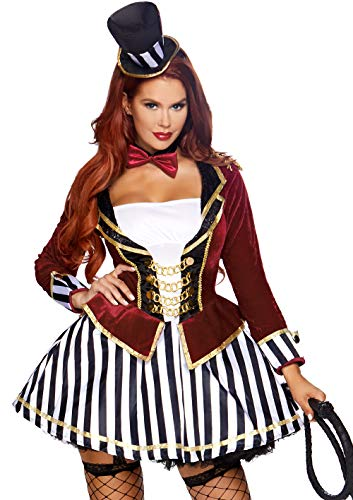 (Leg Avenue Womens Night Circus Ringmaster Costume, Multi,)