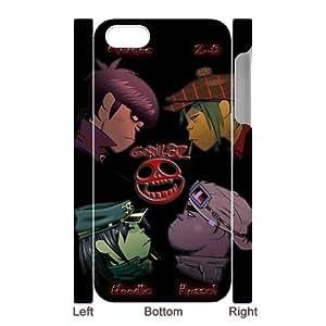 Merry Christmas Cartoon Version Gorillaz iPhone 5 5S Case, Best Durable Gorillaz iPhone 5 5S Case