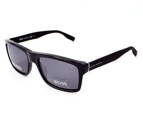059670f4c6f69 BOSS Hugo 0509 S TD Kun 55 Montures de lunettes Noir (Black Mtblac ...