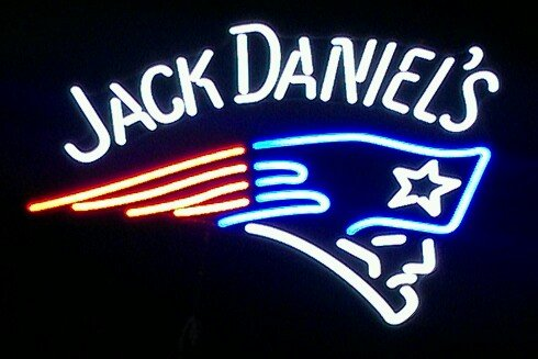 New England Patriots Neon Sign - Desung Brand New 20