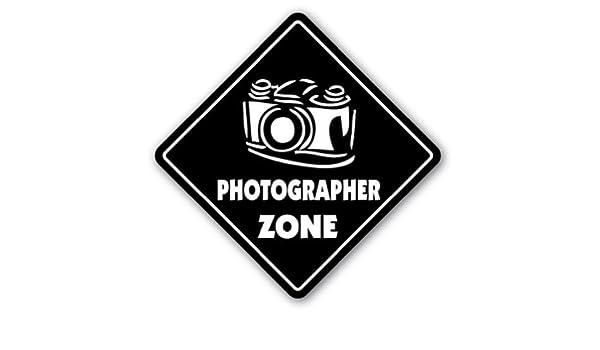 Quote Sign de aluminio fot/ógrafo Zone Sign novedad c/ámara lente pel/ícula suministros soluci/ón signo de regalo de metal placa de pared decoraci/ón