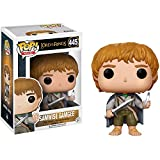 Samwise Gamgee: Lord of The Rings x Funko POP! Movies Vinyl Figure & 1 POP! Compatible PET Plastic Graphical Protector Bundle [#445 / 13553 - B]