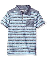 U.S. Polo Assn. Boys Short Sleeve Striped Polo Shirt