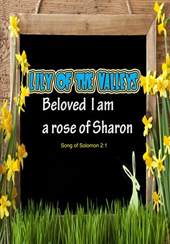 Song Of Solomon 2:1 Lily Of The Valleys: Portable Names Of God Bible Verse Quote Composition Notebook To Write In (Medium Quote Ruled Journal)