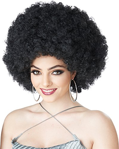 [California Costumes Women's Foxy Lady Wig, Black, One Size] (Woman Costume 2016)