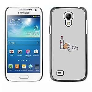 Ihec Tech Potato Vodka Party - Funny / Funda Case back Cover guard / for Samsung Galaxy S4 Mini i9190