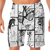 Haixia Men Funny Boardshorts Fashion House Decor Women Faces Different Ey