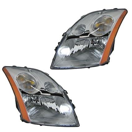 Amazon Com 2007 2008 2009 Nissan Sentra L4 2 0l Headlight Headlamp