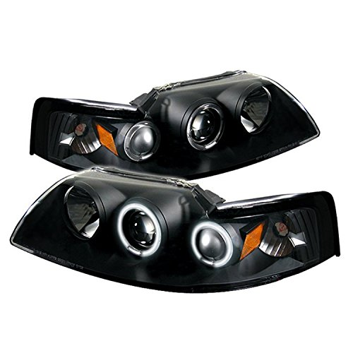 Spyder Auto Ford Mustang Black CCFL Projector Headlight 04 Ford Mustang Projector Headlights