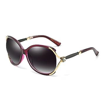 Wkaijc Polarisiert Damen Mode Sonnenbrille Stilvoll Bequem Retro Persönlichkeit Sonnenbrillen ,D