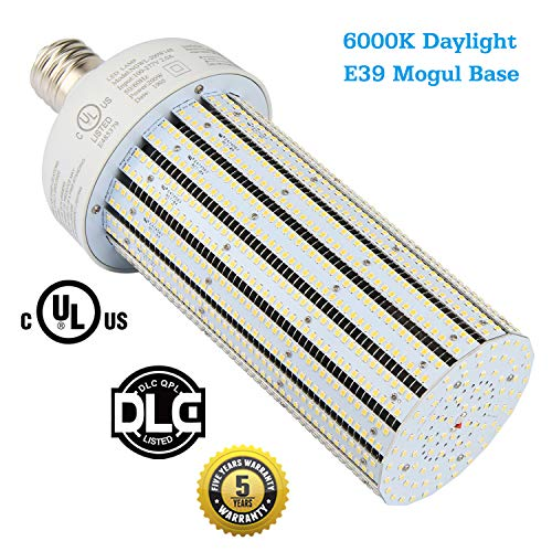 1000 Watt Metal Halide BT56 Replacement 200W LED Corn Light Bulb,Large Mogul E39 Base Warehouse High Bay Fixture,6000K Daylight White Workshop Gymnasium Lighting (200Watt 6000K CoolWhite)