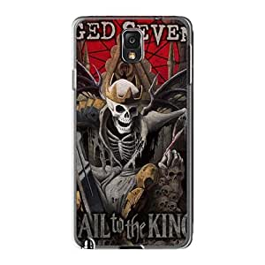 Durable Hard Phone Case For Samsung Galaxy Note3 (IvM1729NSow) Custom Stylish Avenged Sevenfold Band A7X Skin