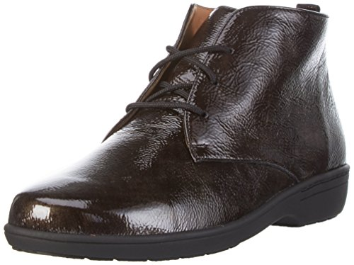 Ganter WoMen Anke, Weite G Ankle Boots Brown (Antrazit 6200)