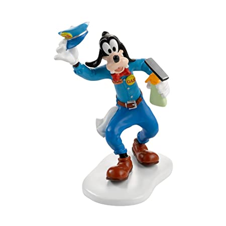 Department 56 Disney Village Goofy for Gas Accessory Figurine, 3.625 inch