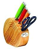 Fiesta 5 Piece Cutlery Prep Set With Block, Multicolor