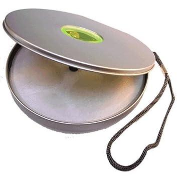 PACK 5 Estuches Porta CDs/DVDs de aluminio - Capacidad para ...