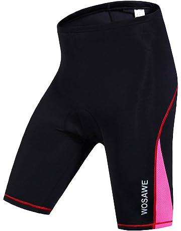 WOSAWE sous-V/êtements de V/élo avec 3D Padded Gel Respirant /à s/échage Rapide Cyclisme Shorts v/élo Pantalon pour Homme