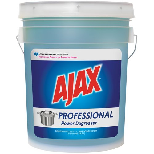 Colgate-Palmolive Ajax Professional Power Degreaser Dishwashing Liquid, 5 gal. (1 Pail) - BMC- CPC04918 by Miller Supply Inc