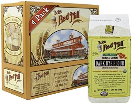 Bob's Red Mill Organic Dark Rye Flour