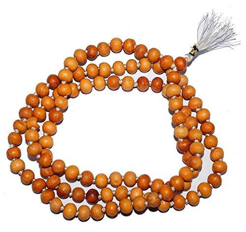 - RED TULSI HOLY BASIL JAPA MALA 108 BEADS PRAYER NECKLACE. BLESSED & ENERGIZED 108 HINDU TIBETAN BUDDHIST PRAYER KARMA BEADS SUBHA ROSARY MALA FOR NIRVANA, BHAKTI, FOR REMOVING INNER DOSHAS, FOR CHANTING AUM OM, FOR AWAKENING CHAKRAS, KUNDALINI THROUGH YOGA MEDITATION
