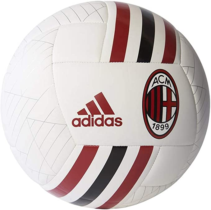 Adidas Bs3434 Pallone Ac Milan Multicolore Amazon It Abbigliamento