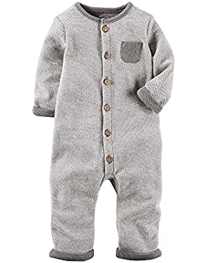 Carter's Baby Button Up Coveralls