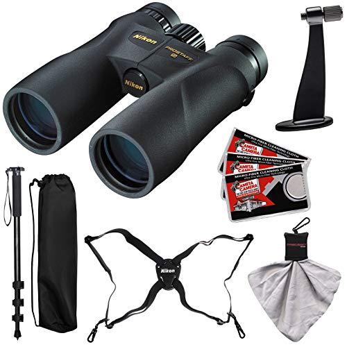 Nikon Prostaff 5 10x50 ATB Waterproof/Fogproof Binoculars with Case + Harness + Smartphone Adapter + Cleaning Kit