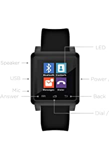 Amazon.com: PINCHU Smart Watch Q7 Plus with 3.0 MP 512MBRAM+ ...