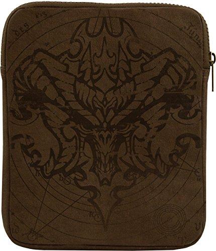 [Musterbrand Diablo Tablet Sleeve Demon Brown One size] (Diablo Reaper Of Souls Costume)