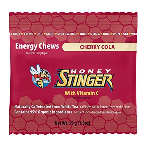 Honey Stinger Organic Energy Chews, Cherry Cola, 12 Count by Honey Stinger
