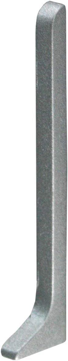 80 mm FUCHS Plinthe aluminium 2,5 M/ÉTRE Hauteur