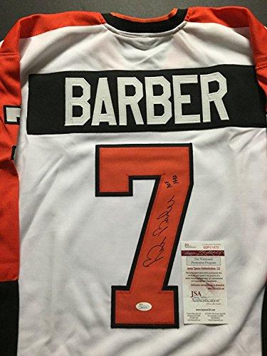 Autographed Signed Barber Philadelphia Flyers