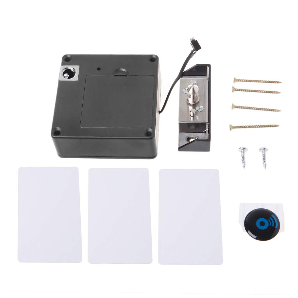guangruiorrty Kabinett unsichtbare elektronische RFID-Sperre versteckte schl/üssellose Schublade T/ürschl/össer Sensor Locker