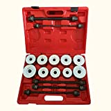 Finlon Universal Press And Pull Sleeve Removal Tool Kit Bush Bearing Insertion Tool Set (Only Ship to USA,3-5 DAYS DELIVERY)