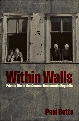 Book Within Walls: Private Life in the German Democratic Republic