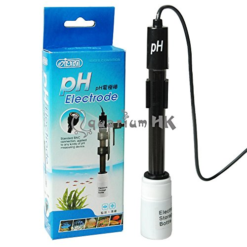 ISTA Aquarium Hydroponic pH Probe Electrode for BNC Connector Controller Meter from ISTA