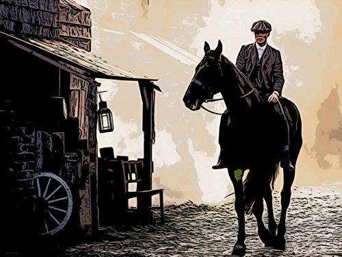 OnTheWall Peaky Blinders Horse Poster Lámina 30x40cm