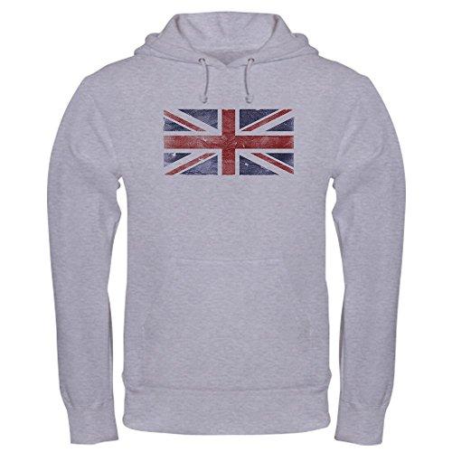 Urban Traveler Jacket (CafePress BRITISH UNION JACK (Old) Hooded Sweatshirt Pullover Hoodie, Classic & Comfortable Hooded Sweatshirt Heather Grey)
