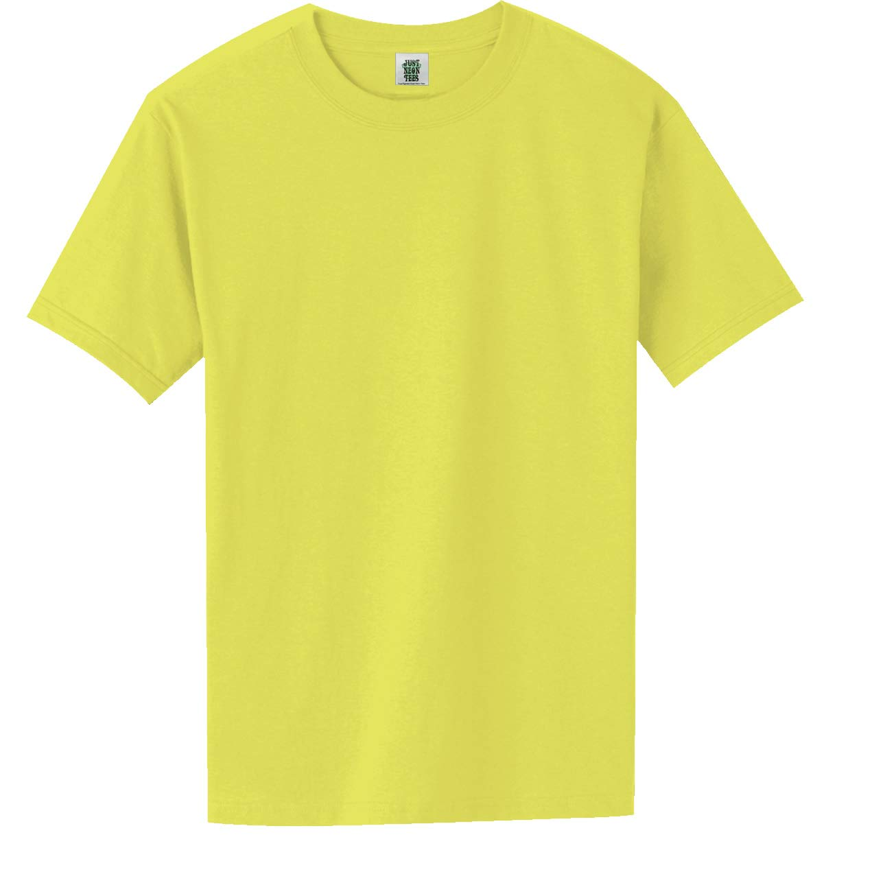 52e0b8a0b2af Short Sleeve Bright Neon T-Shirt in 6 Bright Colors | Amazon.com