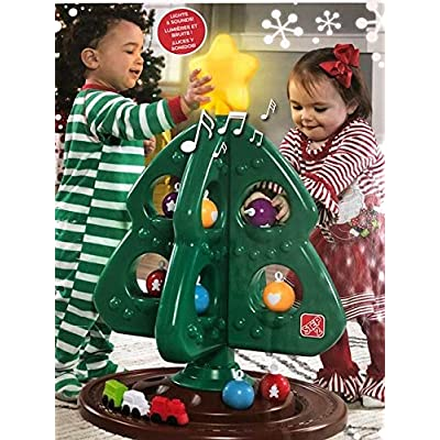 Step2 My First Christmas Tree Lights and Sounds: Toys & Games