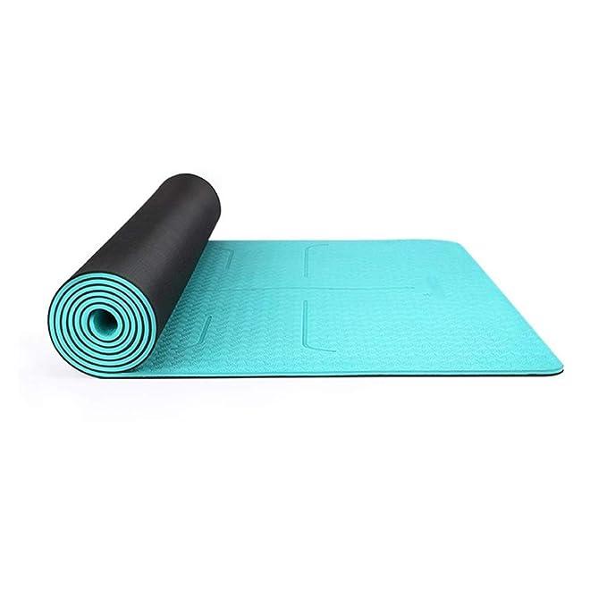 Amazon.com: Kairuicao Yoga Mat Yoga Fitness Mat Pilates ...
