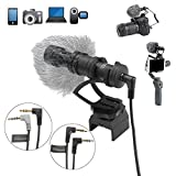 RCstyle Directional Shotgun Camera Video Microphone for DJI OSMO Mobile 1/2 Smartphone GoPro and Micro Camera